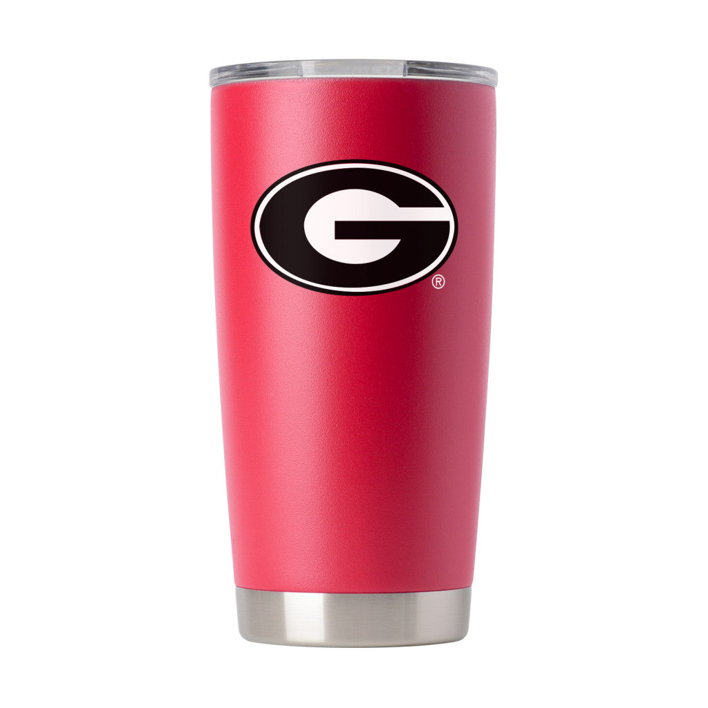 GEORGIA BULLDOGS 20 OZ RED VACUUM INSULATED TUMBLER
