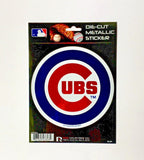 CHICAGO CUBS WINDOW DECAL 5.25