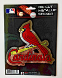 ST. LOUIS CARDINALS WINDOW DECAL 5.25