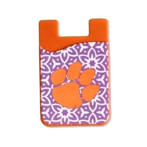 CLEMSON TIGERS CELL PHONE CARD HOLDER WALLET