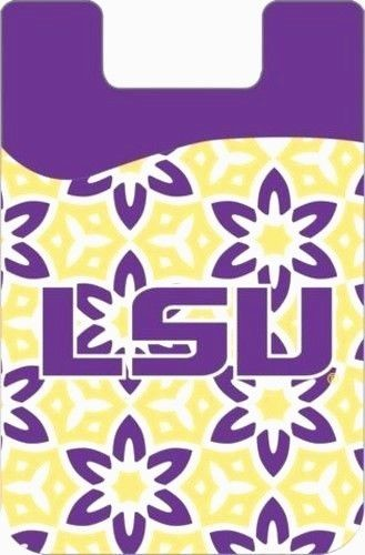 LSU TIGERS CELL PHONE CARD HOLDER WALLET