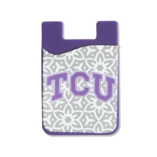 TCU HORNED FROGS CELL PHONE CARD HOLDER WALLET