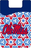 OLE MISS REBELS CELL PHONE CARD HOLDER WALLET