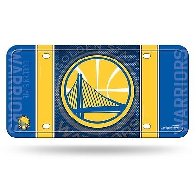 9fcfc60fa6935b ... GOLDEN STATE WARRIORS CAR TRUCK TAG LICENSE PLATE NBA BASKETBALL METAL  SIGN ...