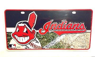 CLEVELAND INDIANS CAR LICENSE PLATE