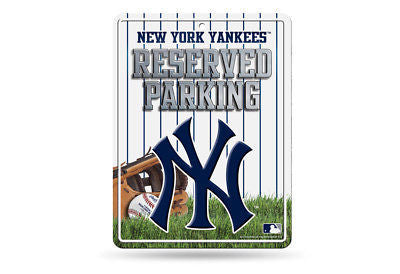 NEW YORK YANKEES RESERVED PARKING SIGN