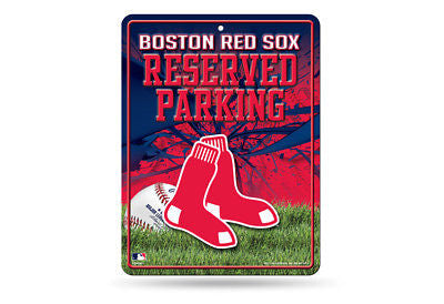 BOSTON RED SOX RESERVED PARKING SIGN