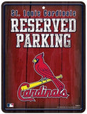 ST. LOUIS CARDINALS RESERVED PARKING SIGN