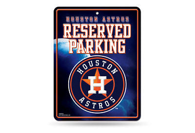 HOUSTON ASTROS RESERVED PARKING SIGN