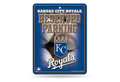 KANSAS CITY ROYALS RESERVED PARKING SIGN