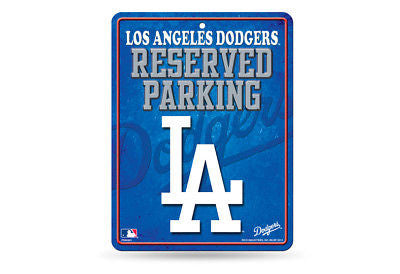 LOS ANGELES DODGERS RESERVED PARKING SIGN