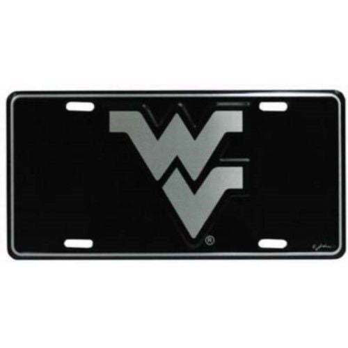 WEST VIRGINIA MOUNTAINEERS ELITE CAR TRUCK TAG LICENSE PLATE BLACK SIGN