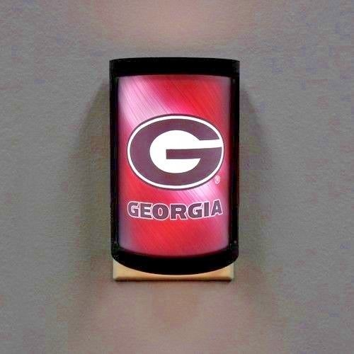 GEORGIA BULLDOGS PLUG-IN LED NIGHT LIGHT WITH LIGHT SENSOR NCAA 3 SETTINGS SPORT