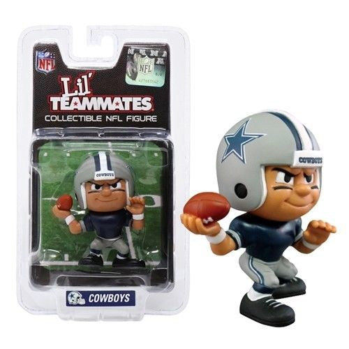 DALLAS COWBOYS LIL' TEAMMATES QUARTERBACK NFL FIGURINES FOOTBALL COLLECTION
