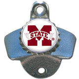 MISSISSIPPI STATE BULLDOGS WALL MOUNT BOTTLE OPENER KITCHEN MAN CAVE BAR NCAA
