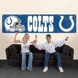 INDIANAPOLIS COLTS 8' X 2' BANNER 8 FOOT HEAVYWEIGHT NYLON SIGN YOU'RE COUNTRY