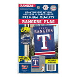 Texas Rangers Applique Banner House Flag Outdoor 44