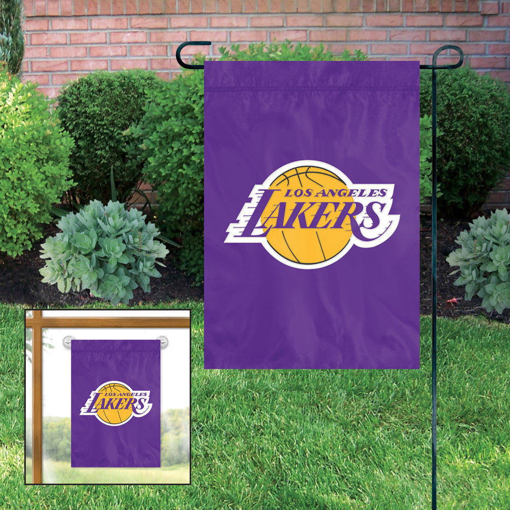 Los Angeles Lakers Garden Flag Embroidered