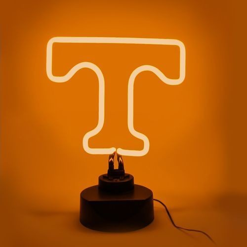 TENNESSEE VOLUNTEERS NEON SIGN LIGHT TABLE TOP LAMP MANCAVE DESK OFFICE