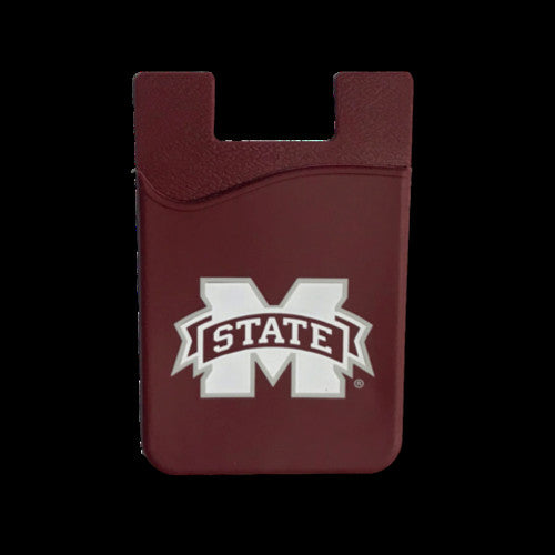 MISSISSIPPI STATE BULLDOGS CELL PHONE CARD HOLDER WALLET DESDEN SOLID UNIVERSITY