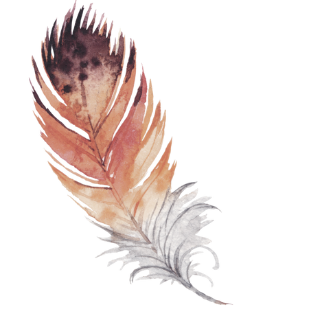 Weather Worn Feather