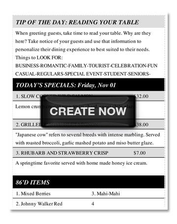 Tip of the Day Free Server Template