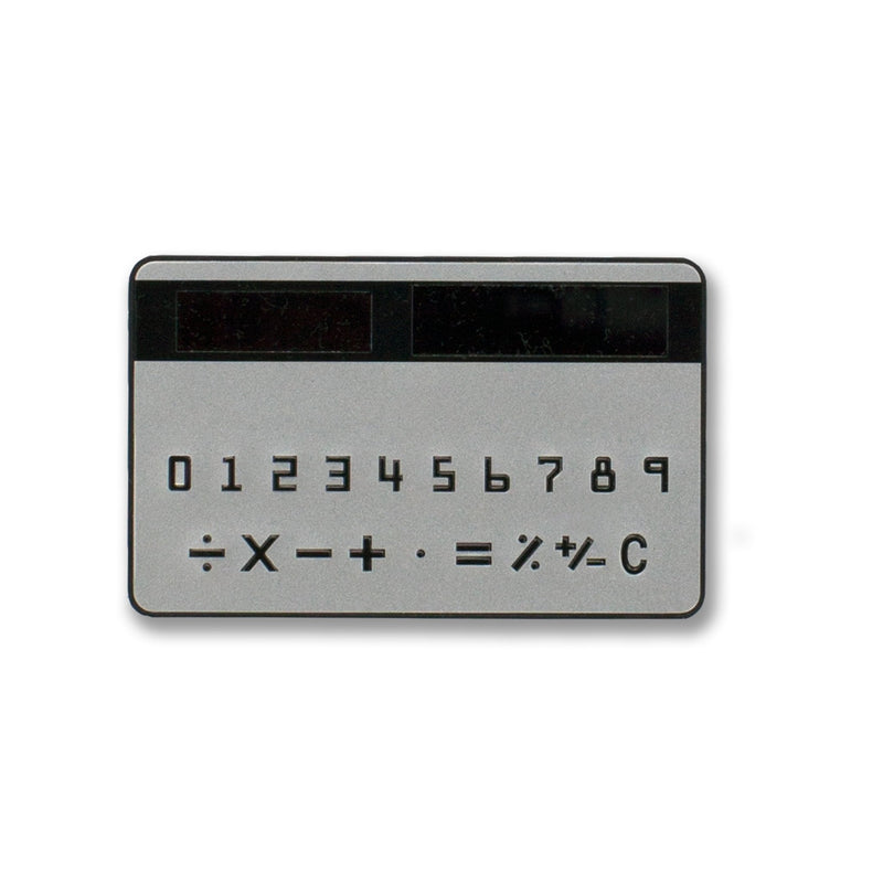 Credit Card Size Calculator
