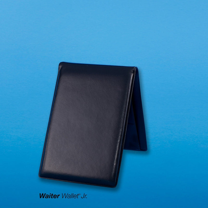 The compact sized Waiter Wallet Jr.'s make it the perfect waitstaff organizer book for server's with out apron pockets.