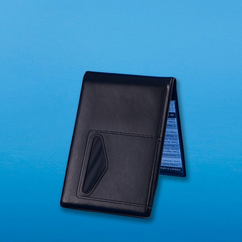 The Waiter Wallet Jr.s game-changing design and compact size make it the worlds best waiter or waitress book for servers with out apron pockets!