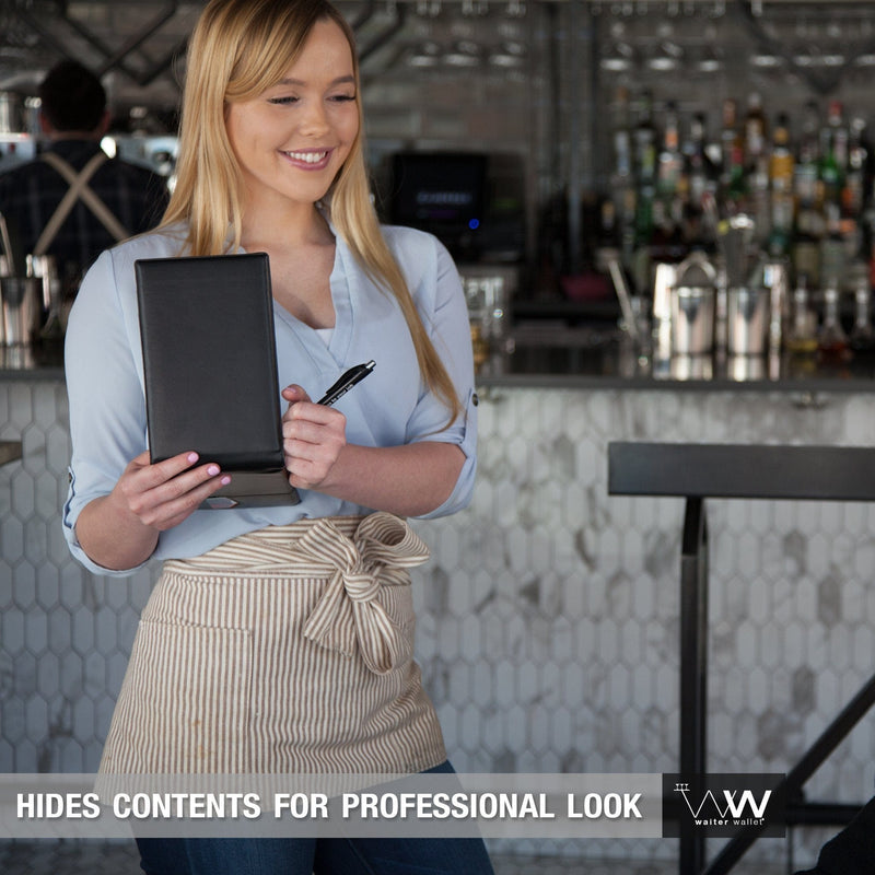Waiter Wallet Sr.'s professional appearance makes every server look amazing!