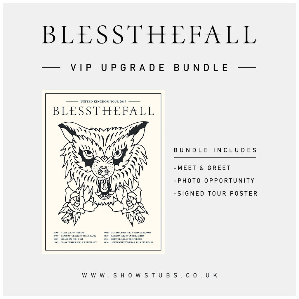 3 October 2017 | Bristol, UK at The Fleece | Blessthefall