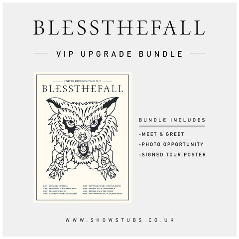 26 September 2017 | York, UK at Fibbers | Blessthefall