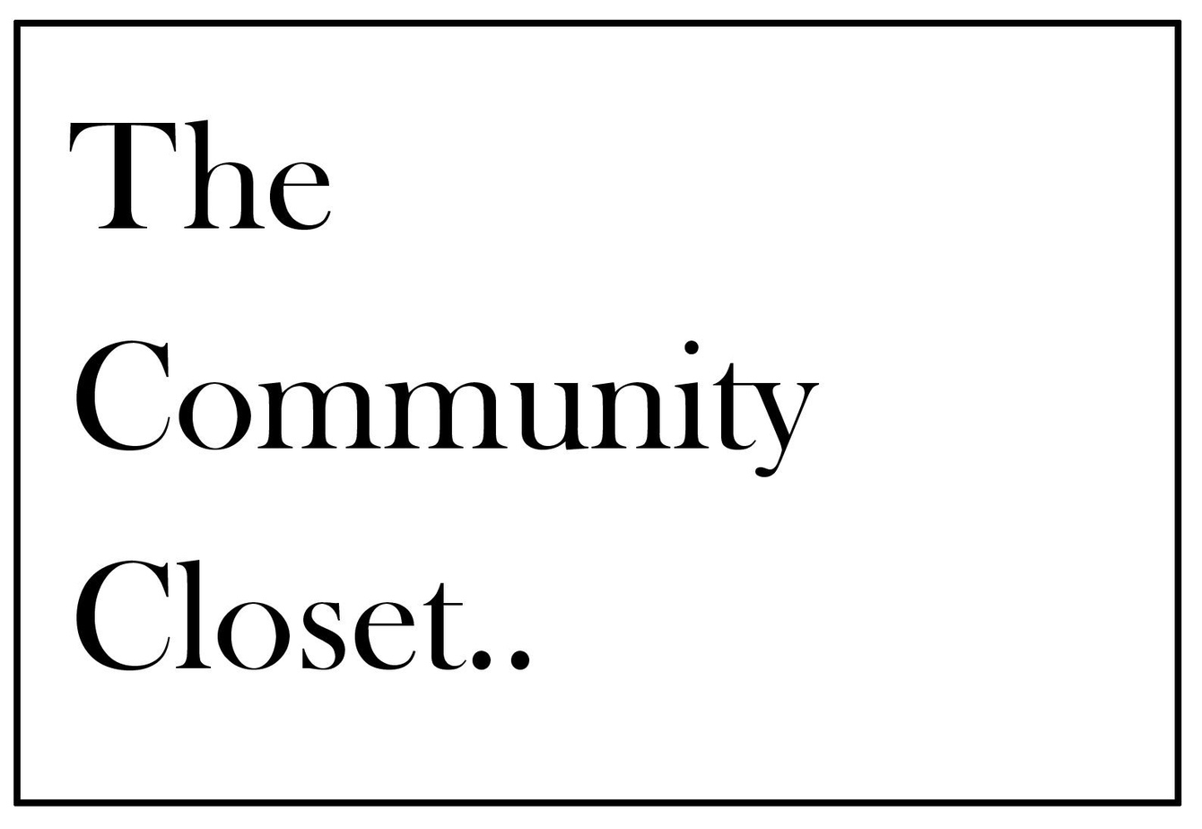The Community Closet