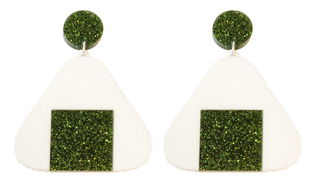 Onigiri Earrings