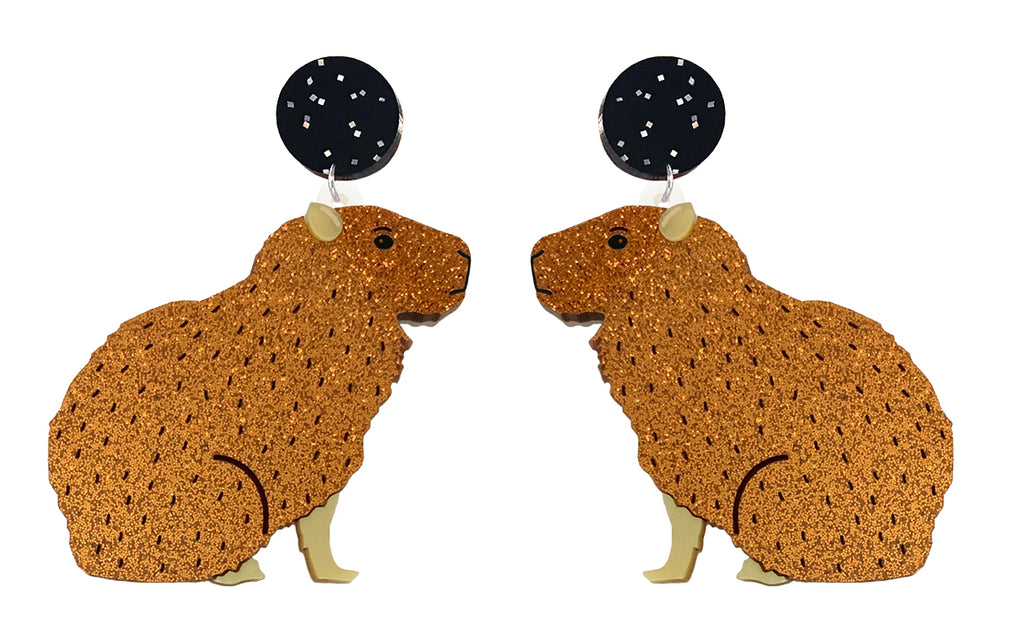 Capybara Earrings
