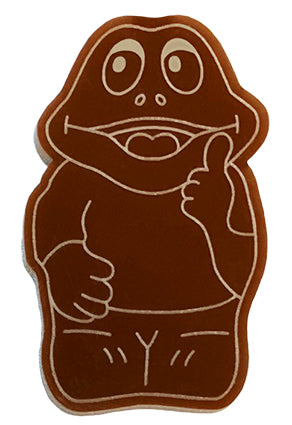 Chocolate Frog Brooch