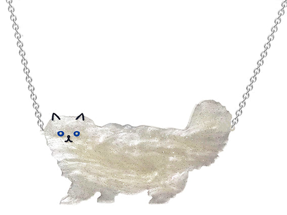 Fluffy Cat Necklace
