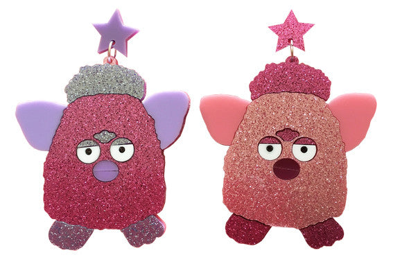 Furby Earrings