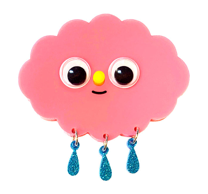 Happy Cloud Brooch