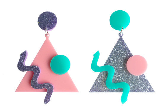 80's Memphis Vibe Earrings
