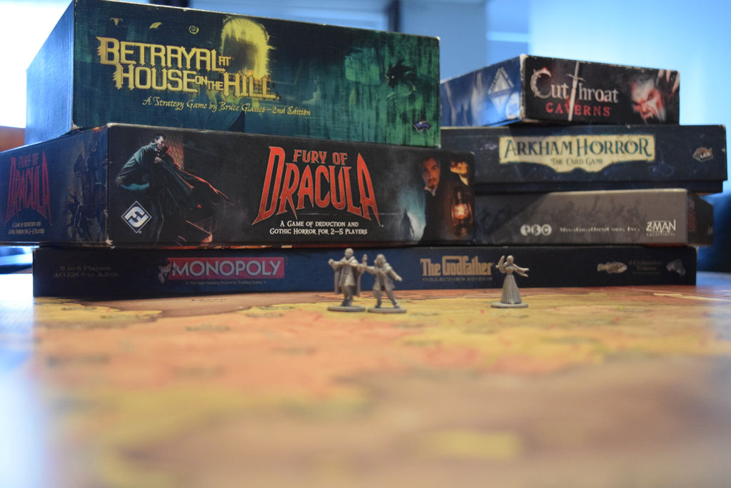 Top 5: How to Scare a Board Gamer