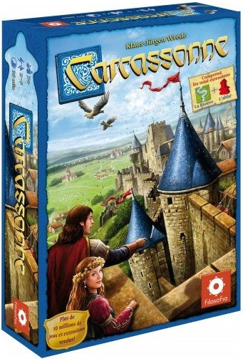 Carcassonne Base 2.0 (Nouvelle version) - Board Game - The Dice Owl