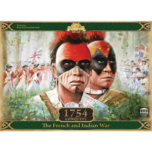 1754: Conquest – The French and Indian War - Board Game - The Dice Owl