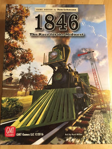 1846: The Race for the Midwest - Board Game - The Dice Owl