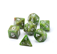 Die Hard Poly RPG Set - Moss
