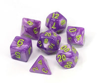 Die Hard Poly RPG Set - Purple Trickster