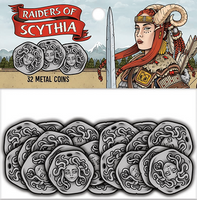 Raiders of Scythia Metal Coins (Pre-Order)