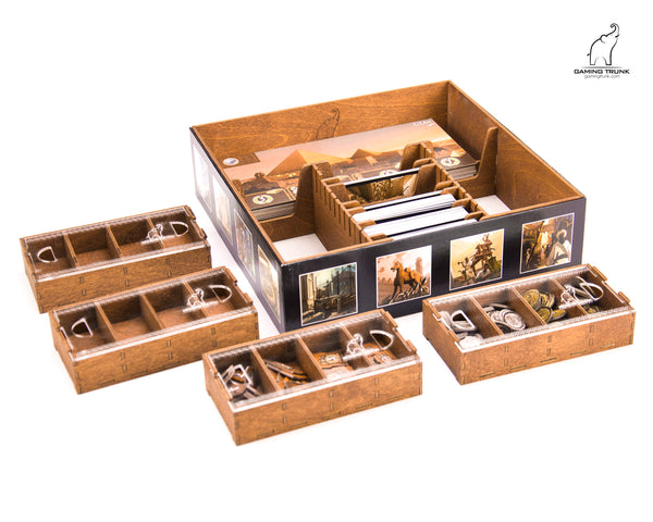 7 Wonders Organizer - Supplies - The Dice Owl