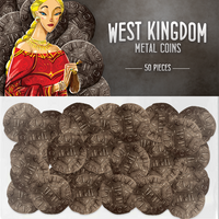 Architects of the West Kingdom Metal Coins - Supplies - The Dice Owl