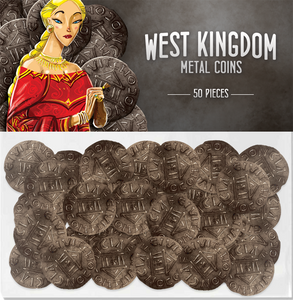 Architects of the West Kingdom Metal Coins (Pre-Order) - Supplies - The Dice Owl